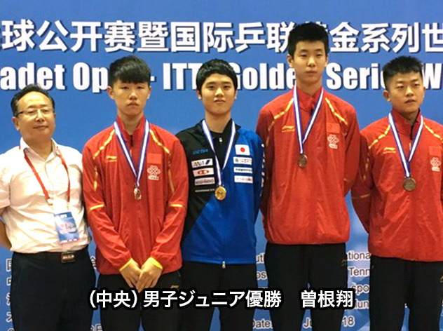 ジュニアサーキット中国大会2