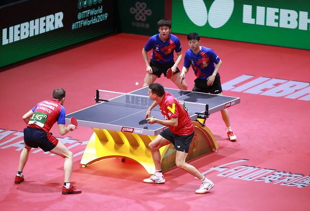 2019世界卓球男子ダブルス決勝