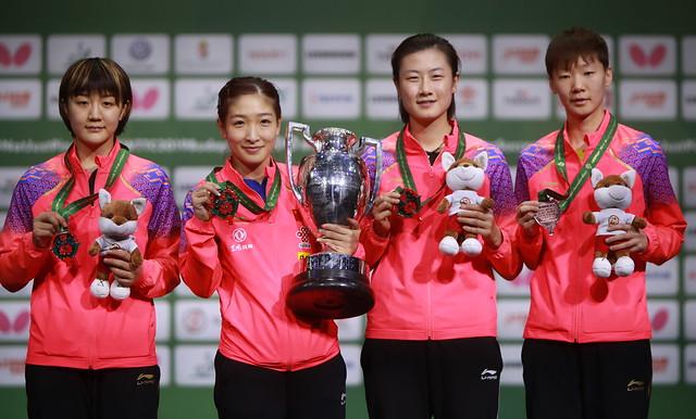 2019世界卓球女子シングルス