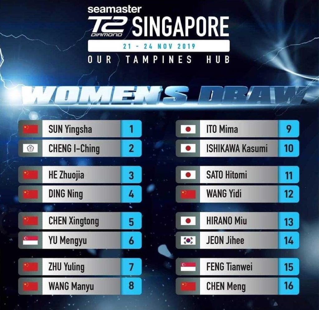 T2シンガポール女子